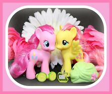 ❤️My Little Pony MLP Brushable Crystal Sparkle Bath Fluttershy Pinkie Pie G4❤️