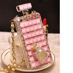 Sparkle Perfume Case For iPhone 11 Pro Max XS XR 6S 7 8 Samsung S10 S20 Note 10+