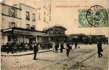 CPA JOINVILLE-le-PONT Place de la Gare (600310)