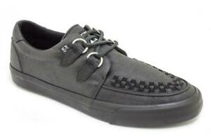 T.U.K A9363 VLK Creeper Sneaker Wax Canvas D-Ring