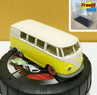 Majorette Volkswagen VW T1 Yellow White 1/59 243A no Package Free Display Box