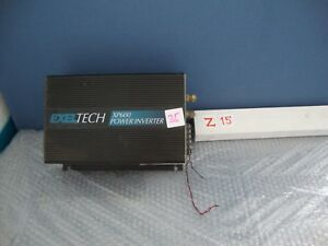 EXELTECH XP600 power Inverter
