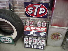 STP OIl AND GAS RACK RARE COMPLETE AND READY TO DISPLAY IN A  MANCAVE OR STATION