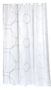 Carnation Home Fashions  Fabric Shower Curtain  70 by 84-Inch