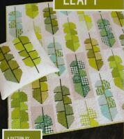 Leafy - fun modern pieced quilt PATTERN - Elizabeth Hartman