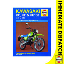 [1371] Kawasaki KC100 KE100 KH100 1975-99 Haynes Workshop Manual