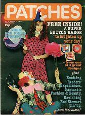 Patches Magazine 31 March 1979 No. 4    Rod Stewart