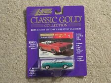 Johnny Lightning Classic Gold 1970 Cougar XR-7 Mercury Green Convertible 1998