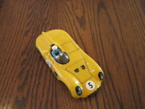 1/32 lexan Jaguar D-Type mounted on custom chassis