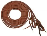 """Showman 3/4"""" X 8' Oiled Harness Leather Split Reins! NEW HORSE TACK!"""