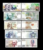 2x  100 - 10.000 Francs - Issue ND 1982 - 1997 - Reproduction - B 02