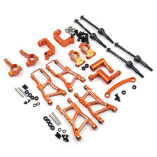 Yeah Racing HPI RS4 Sport 3 Orange Aluminum Chassis Upgrade Kit RSS3-S01OR