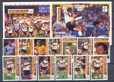 Fußball-WM 1994 - Malediven - 1758-1770, Bl.236-237 ** MNH