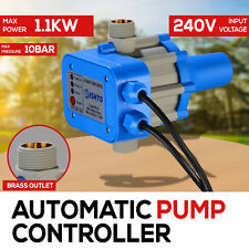WATER PUMP PRESSURE SWITCH AUTOMATIC ELECTRONIC 10 BAR 1.1KW ELECTRIC CONTROLLER