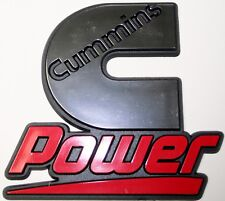 1 Cummins emblem dodge ram decal power diesel gear Kenworth Peterbilt Volvo ford