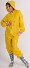 Overall Regenanzug Suit 100% PVC -kein Gummi gelb