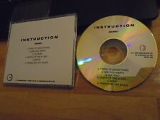 VERY RARE PROMO Instruction DEMO CD Handsome QUICKSAND Shelter SAETIA Bad Trip !