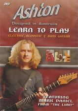 Ashton : Learn to Play Electric, Accoustic & Bass Guitar DVD