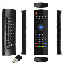 2.4GHz Fly Wireless Air remote Qwerty Keyboard for android tv boxes T95 H96 Q T8