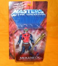 2002 MODERN SERIES MOTU HE-MAN MASTERS OF THE UNIVERSE MEKANECK FIGURE MOC CARD