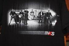 INXS Rock Group Band Mens T-shirt Concert M Med Black 2006 Tour
