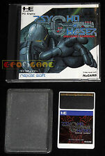 PSYCHO CHASER Pc Engine Pce HuCard Versione Giapponese ••••• COMPLETO