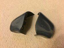 VW Golf MK3 Vento VR6 GTI CL GL Polo 6N Carbon Fibre Style Horn Button Covers US