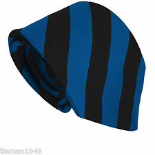 High / Senior School Block Equal Stripe Striped Tie  (only suitable for Schools)