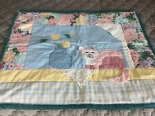 New listing Vintage Hand Made Lap Quilt