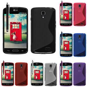 Housse etui coque pochette TPU silicone gel S-Line Pour LG F70 D315 LTE