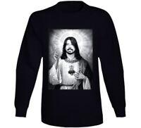 Saint Dave Grohl The Savior Shirt Foo Fighters Rock Legend Long Sleeve T Shirt