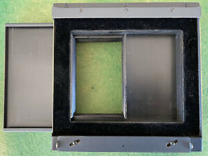 "Vintage Folmer Graflex Corp. 4X5 Frame Splitter  2ea  2¼ X 4"" on single 4X5 Film"