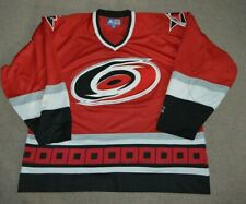Vtg Carolina Hurricanes Starter Hockey Jersey 2XL Blank