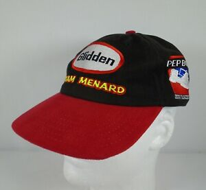 Glidden Team Menard PEP BOYS Indy Racing League Hat IRL