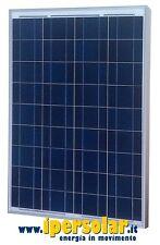 Pannello solare fotovoltaico 100 Watt Policristallino 12V