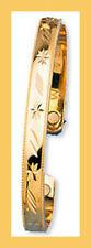 """Magnetisme, Bracelets """" Or """" certifié  - Étoile, 2 aimants 1600 Gauss"""