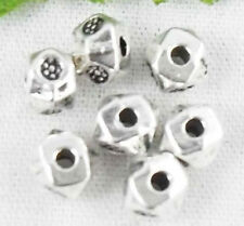 Free Ship 200Pcs Tibetan Silver Spacer Beads 4mm