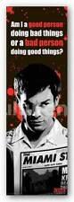 TELEVISION POSTER Dexter America's Favorite Serial Killer 12x36