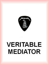 METALLICA         MEDIATOR      medium  PLECTRUM  guitar pick