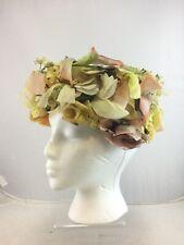 Vintage Christian Dior Chapeaux Floral Hat