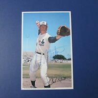 CARL MORTON  1971 Montreal Expos  Pro Stars Postcard Signed Autographed AUTO