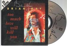 Brian May Too Much Love Will Kill You CD SINGLE french card sleeve fair cond.!!