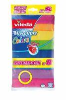 VILEDA Allzwecktuch Microfaser Colors XXL 30x30cm 8er Pack Reinigungstuch Tuch