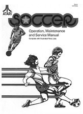 ATARI SOCCER Operations, Maintenance and Service Manual Videogame PARTS LIST