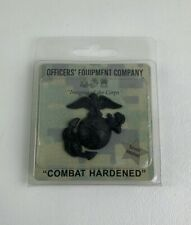 New Officers Equipment Company USMC Enlisted Service Garrison Cap Hat Black EGA