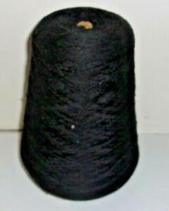 Cone Caron Black Knitting Machine Yarn