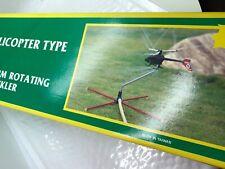 Rotating Helicopter  Sprinkler - Vintage Lawn Sprinkler New in Box - Never Used!