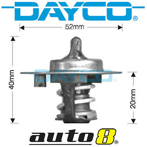 Dayco Thermostat for Ford Capri Convertible SE 1.6L Petrol B6 1993-1994