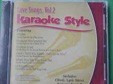Love Songs #2 ~ Daywind ~ Karaoke Style ~~ When You Say You Love Me ~~ CD+G