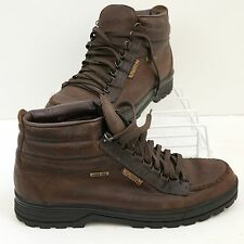 MENS MEPHISTO BROWN LEATHER HIKING TRAIL LACE-UP BOOTS SIZE 13